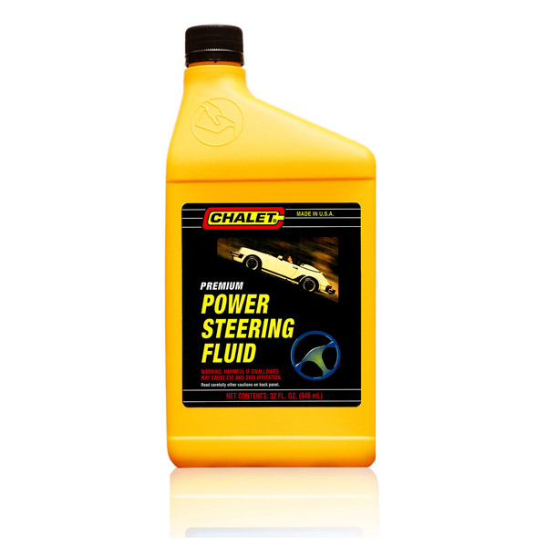 how to put in power steering fluid